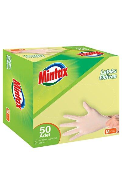 Mintax Pudralı Lateks Eldiven 50 Adet