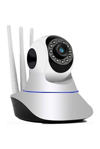 BLUE İNTER Gece Görüşlü Hd 360 Derece Wifi Ip Bebek Kamerası cmr5