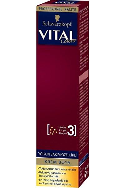 Vital Vıtal Tüp Saç Boyası 7-65 Koyu Fındık Kabuğu 60 ml