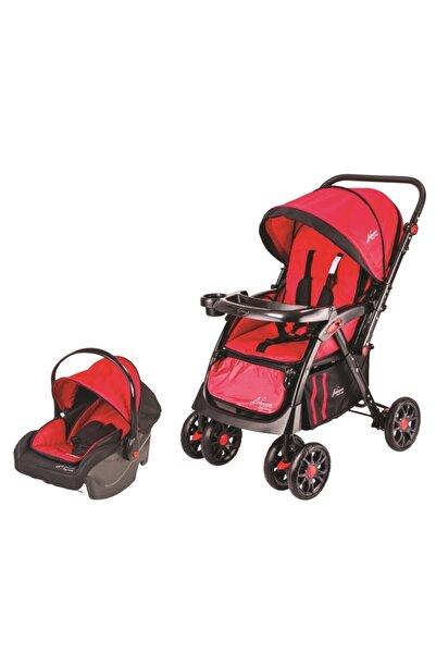 Johnson Toronto Travel Sistem Bebek Arabası Kırmızı