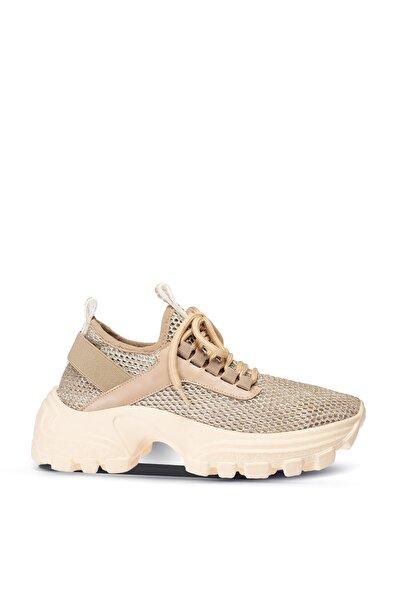 Deery Kadın Bej Sneaker Ayakkabı