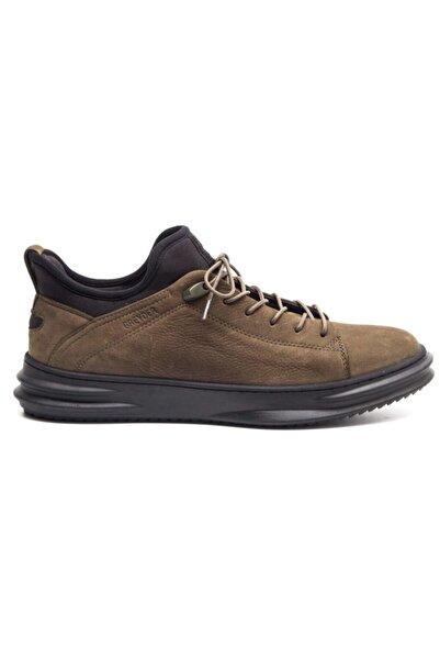 Greyder 13650 Haki Deri Trendy Casual Erkek Ayakkabı