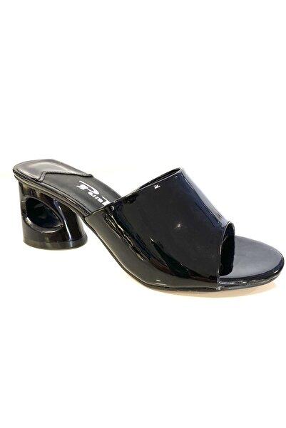 PUNTO 450037 Kadın Kalın Topuklu Ayakkabı