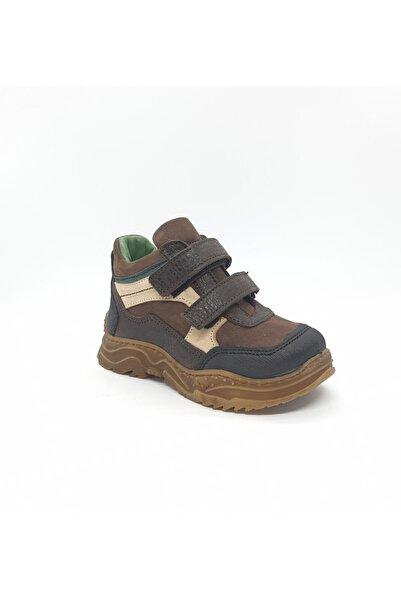 Erkek Bebek Kahverengi Ortopedik Kışlık Ayakkabı