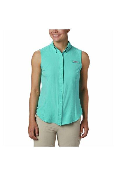Columbia Kadın Yeşil Tamiami Sleeveless Shirt  Gömlek