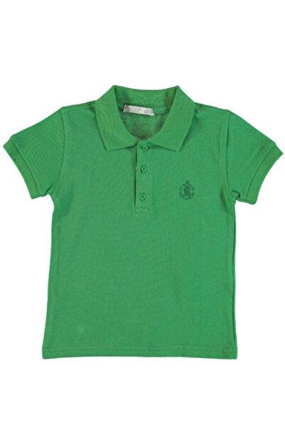 Monna Rosa Erkek Bebek Yeşil Polo Yaka T-shirt