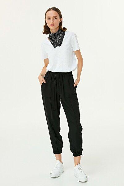 Twist Kadın Siyah Jogger Fit Pantolon TW6200003125