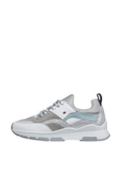 Kadın Gri Sneaker Sporty Chunky Glıtter Sneaker FW0FW04853