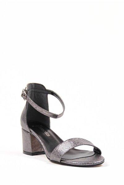 Oioi Platin Kadın Topuklu Ayakkabı 1020-119-0002_1014