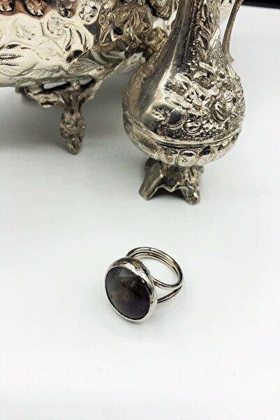 Dr. Stone Dr Stone Harem Koleksiyonu Ametist Taşı El Yapımı 925 Ayar Gümüş Set Ahl86