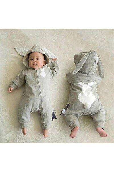 Bebe Tavşanlı K Tulum Gri