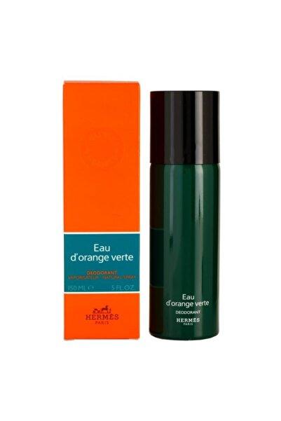 Hermes Eau D'orange Verte Vaporısateur Natural Spray 150 ml Unisex Deodorant