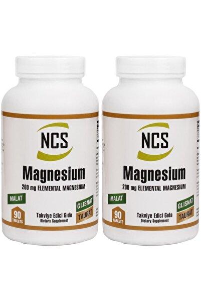 Magnesium (magnezyum) Malat Glisinat Taurat 90 Tablet X 2 Kutu