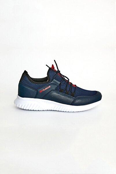 Fulla Moda Erkek Lacivert Bağcıklı Spor Ayakkabı