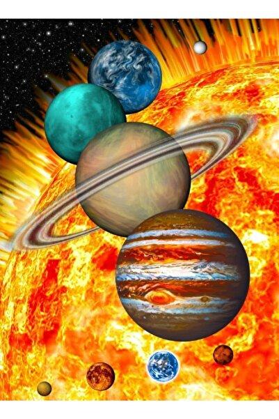 Nova Puzzle Güneş Sistemi Gezegenler Puzzle 1000 Parça