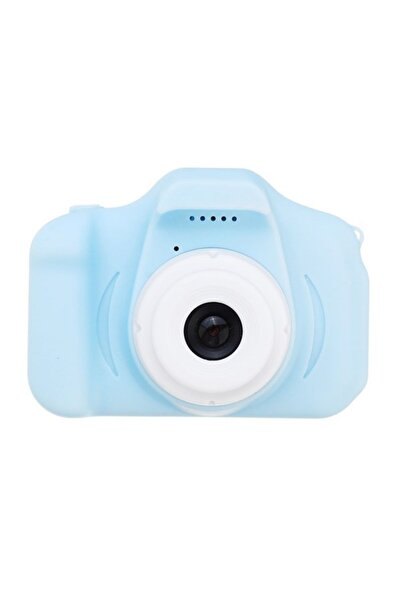 BLUE İNTER Mini Eğitici Kamera Çocuklar Için Dijital Fotoğraf Makinesi Cmr9