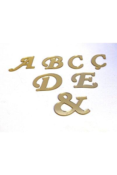 Bihızlı Pleksi Alfabe Harfler ( Tüm Alfabe ) Altın Renk