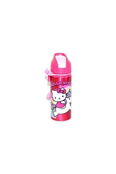 Hello Kitty Orijinal Lisanslı Pipetli Metal Matara 97866