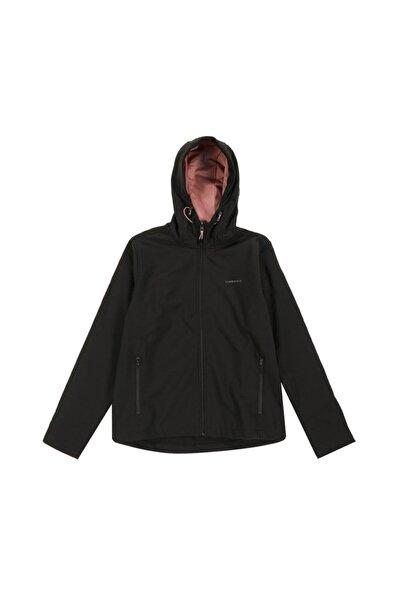 lumberjack Kadın Siyah Basıc Softshell Ceket W 866