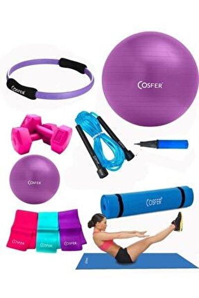 Csf-tr033 8 Li Pilates Seti Pilates Minderi