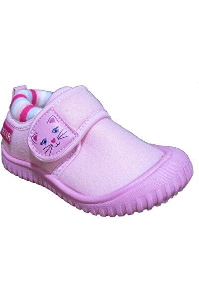 GEZER Kız Çocuk Pembe Ev Kreş Panduf Ayakkabı 02994