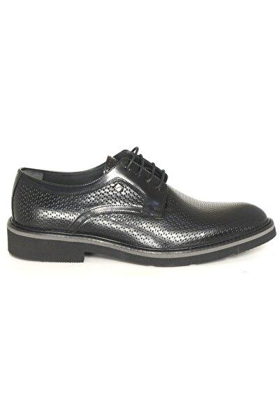Fosco 1094 Siyah Açma Deri Eva Klasik Ayakkabı