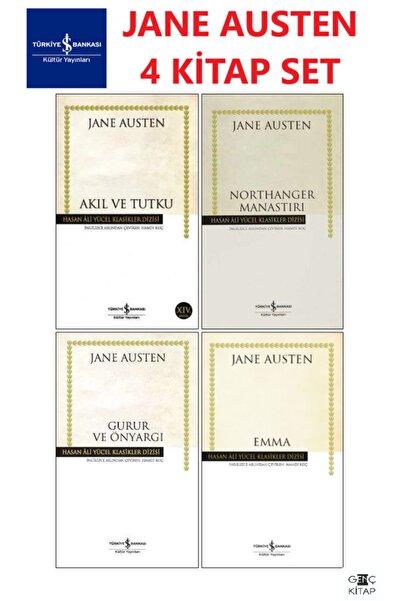İş Bankası Kültür Yayınları Iş Bankası Jane Austen 4 Kitap Set Hasan Ali Yücel Klasikleri Emma-gurur Ve Önyargı-akıl Ve Tutku
