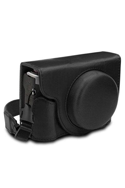 MegaGear Canon Powershot G7 X Mark Iıı Suni Deri Fotoğraf Makinesi Kılıfı