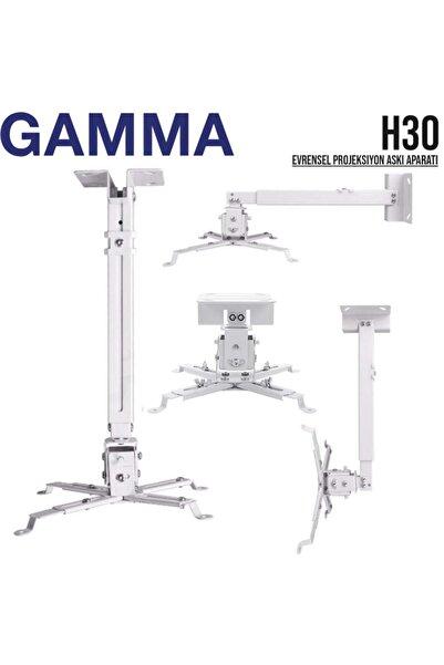 Gamma Screens Gamma H30 Teleskopik Projeksiyon Askı Aparatı