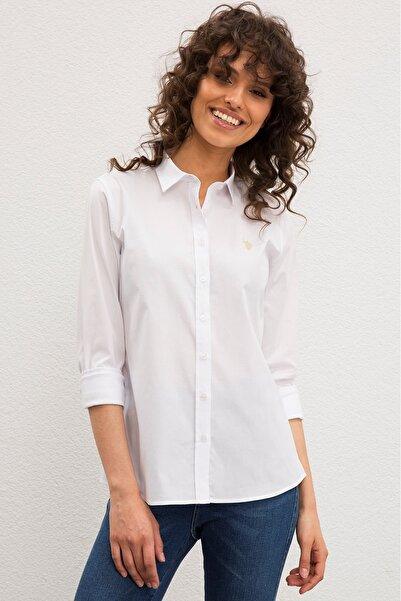 U.S. Polo Assn. Kadın Gömlek G082GL004.000.990732