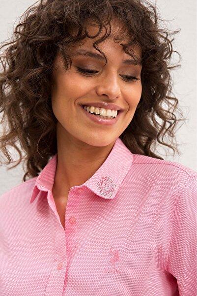 U.S. Polo Assn. Kadın Gömlek G082GL004.000.985503