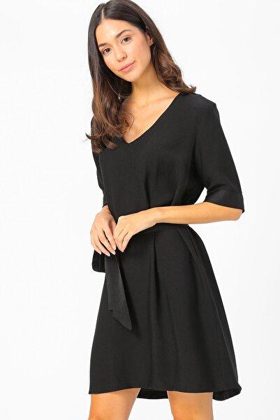 Fabrika Kadın Siyah Elbise 504393152 Boyner