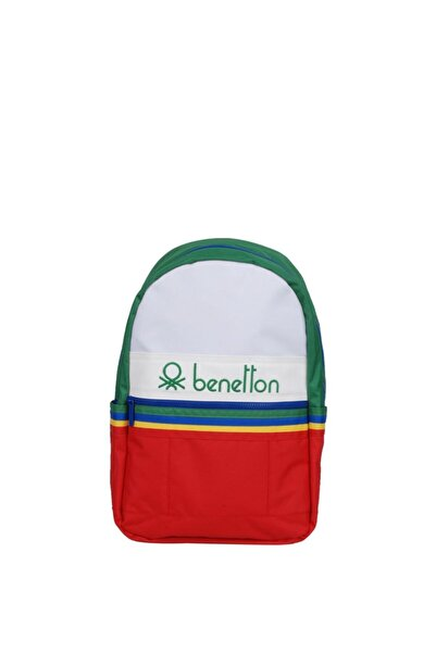 Benetton Unisex Kırmızı Sırt Çantası
