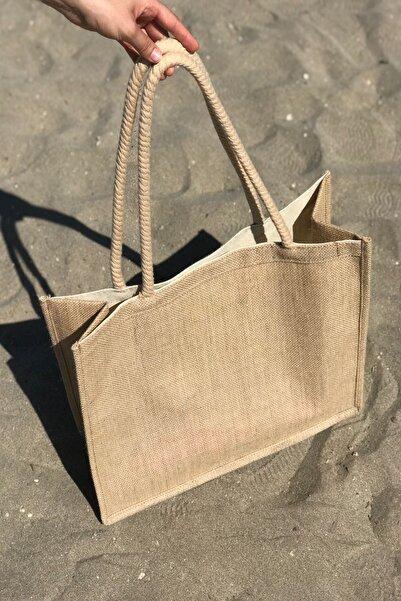 Lebina Hasır Plaj Çantası