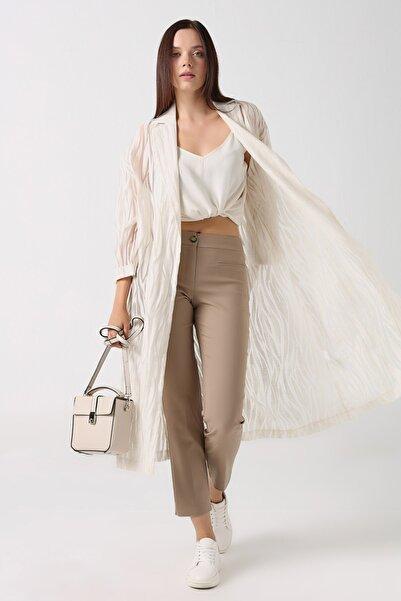 Gusto Kadın Taş Sihirli Pantolon 20YG001101