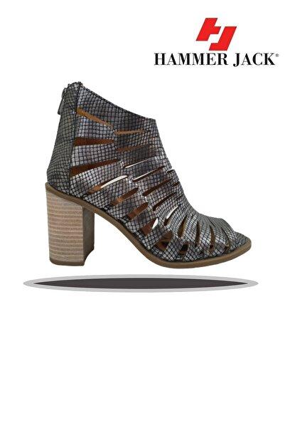 Hammer Jack Kadın Kafes Topuklu Ayakkabı 448 1306-z