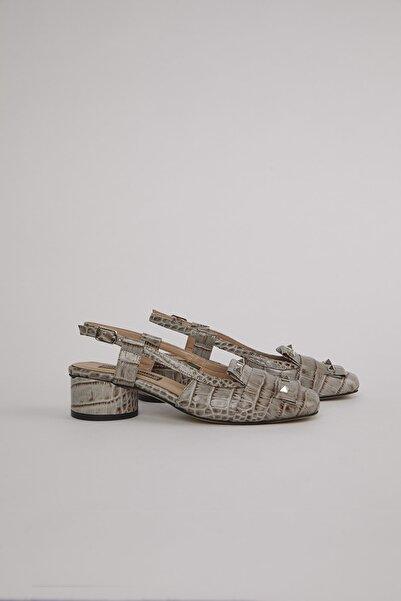 ALINA KOREN Kadın Vizon Lunas Topuklu Ayakkabı