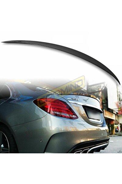 Carmind Mercedes C Serisi W205 Bagaj Üstü Piano Black Spoiler