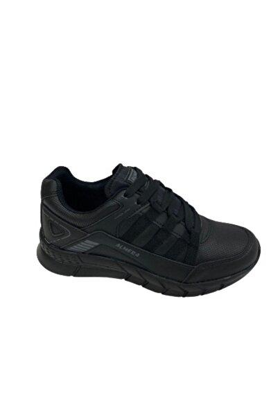 Almera Unisex Siyah Spor Ayakkabı