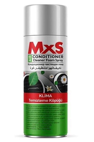 MxS Oto Klima Temizleme Köpüğü 400 ml