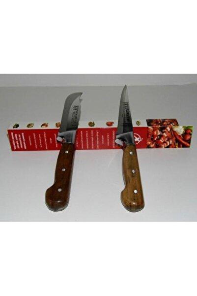 Cadence Lazoğlu Sürmene Tarihi El Dövme Çelik Bıçak 2 Li Set