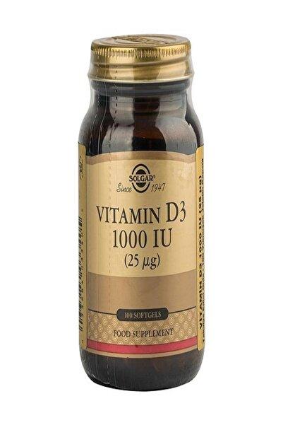 Vitamin D3 1000ıu 100 Softgel