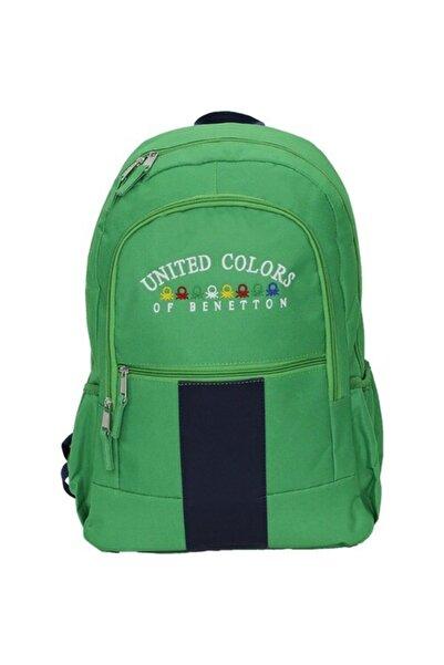Benetton Unisex Yeşil Sırt Çantası