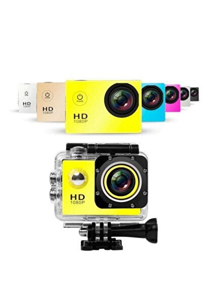 BLUE İNTER Su Geçirmez Full Hd 1080p Aksiyon Video Kamera