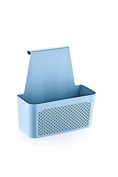 HOBBY LİFE Mavi - Askılı Dolap Düzenleyici Sepet - Küçük