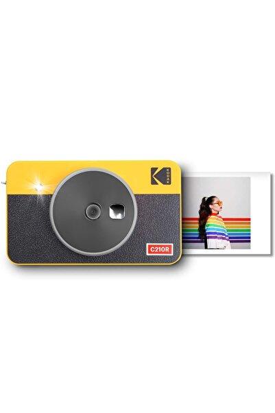 Kodak Mini Shot Combo 2 Retro - Anında Baskı Dijital Fotoğraf Makinesi - Sarı