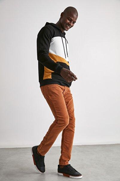 TRENDYOL MAN Camel Erkek Kadife Skinny Pantolon TMNAW20JE0161