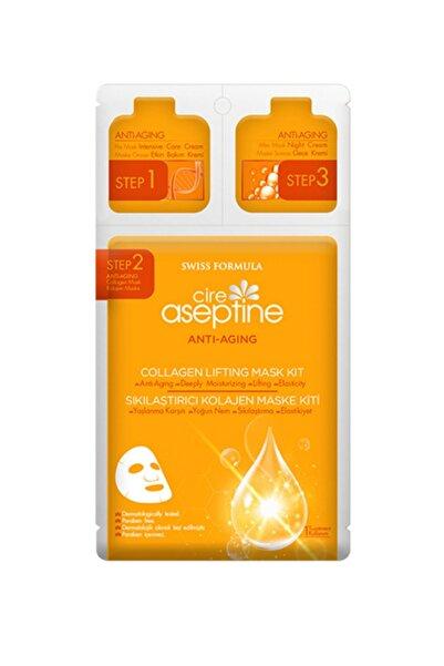 CIRE ASEPTINE Sıkılaştırıcı Kolojen Maske Kiti