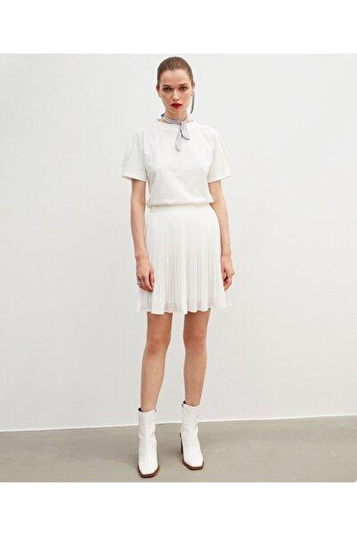 İpekyol Kadın Beyaz Basic Bluz