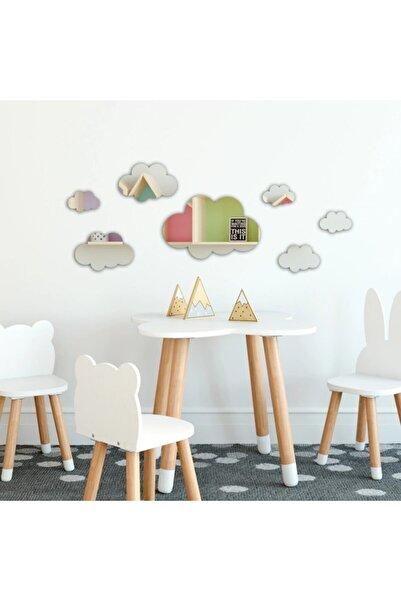 3M Bulut Dekoratif Duvar Aynası